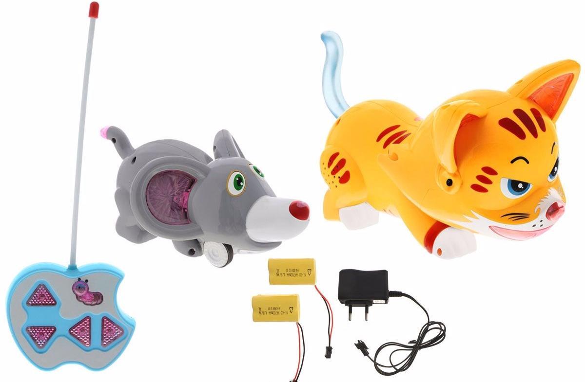 TongDe Кошки мышки (В72496) - интерактивная игра (Multicolor)Развивающие игрушки<br>Интерактивная игра<br>