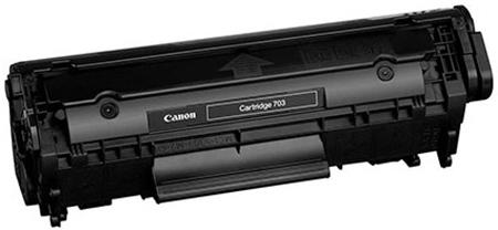 Canon 703 - картридж для принтеров Canon i-SENSYS LBP2900/LBP3000 (Black)
