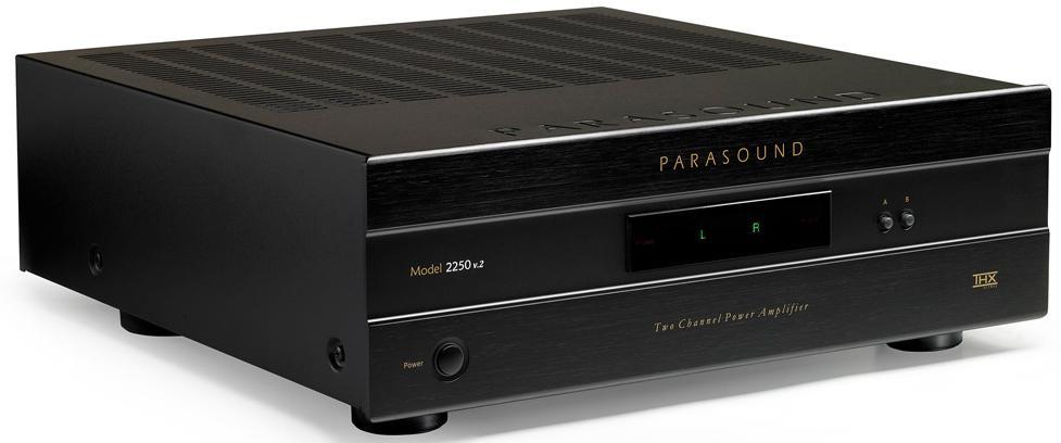 Parasound 2250 v2 - усилитель мощности (Black)