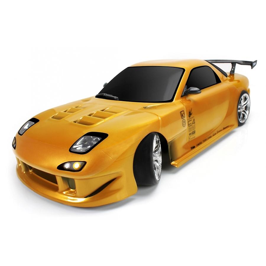 Team Magic E4D Mazda RX7 1:10 - радиоуправляемый автомобиль (Yellow)