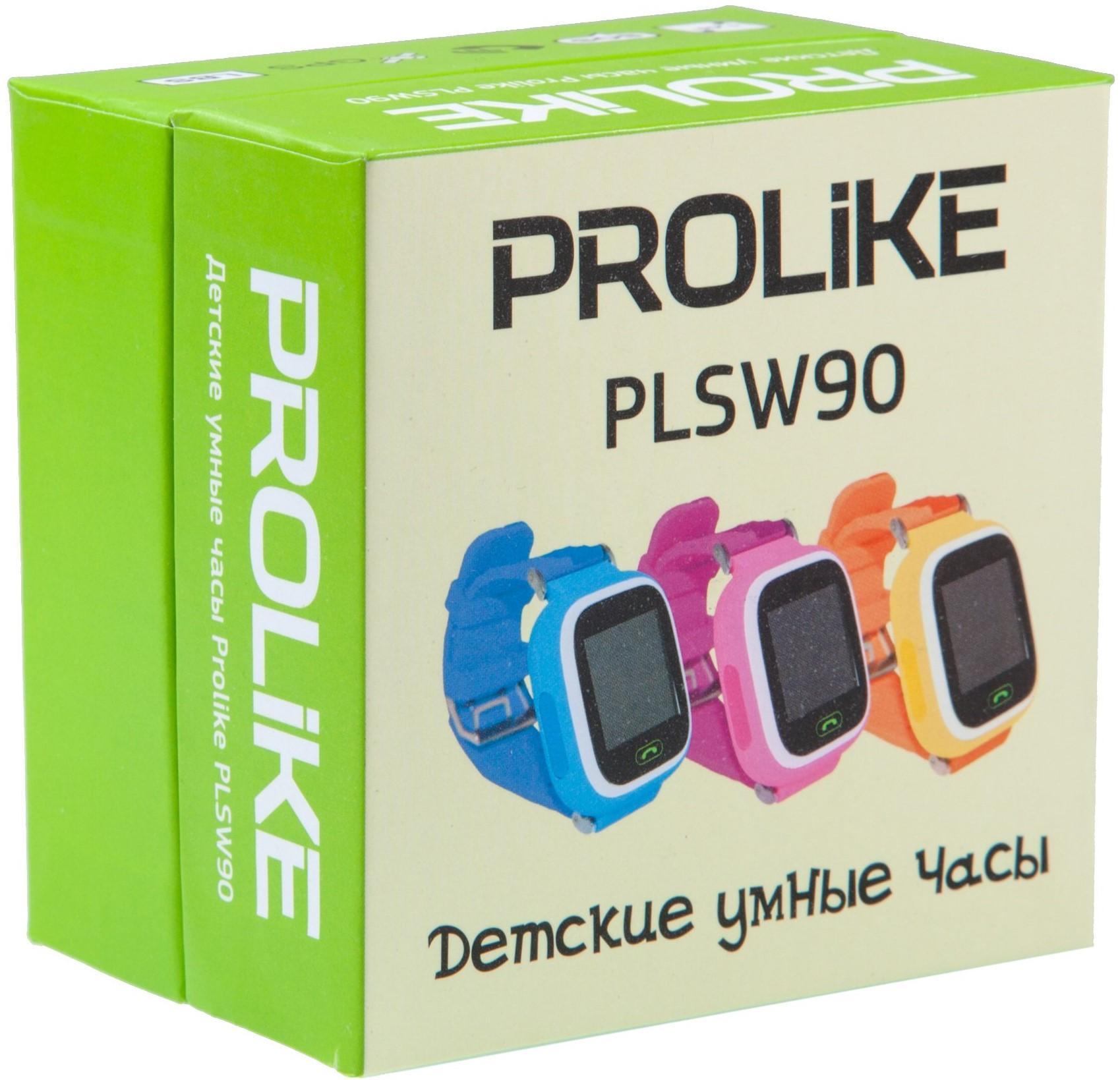 Детские умные часы Prolike PLSW90 (Orange)