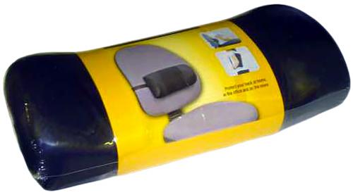 Fellowes FS-80421 - поясничная подушка для офисного кресла (Black)