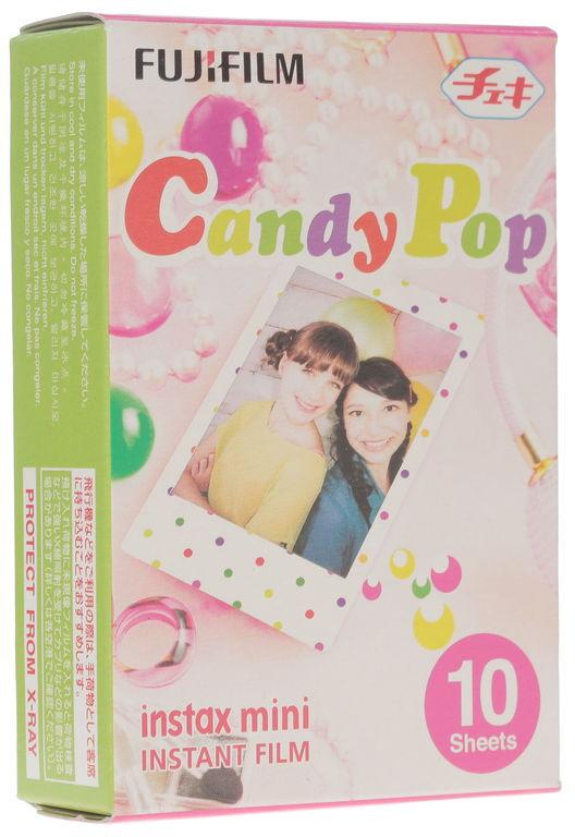 Fujifilm Instax Mini (inst_candy) - картридж для фотоаппарата (Candypop) fujifilm instax mini 70 black фотокамера мгновенной печати colorfilm instax mini 10 2pk картридж
