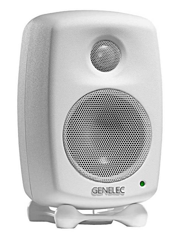 Genelec 6010BWM - студийный активный 2-полосный монитор (White)