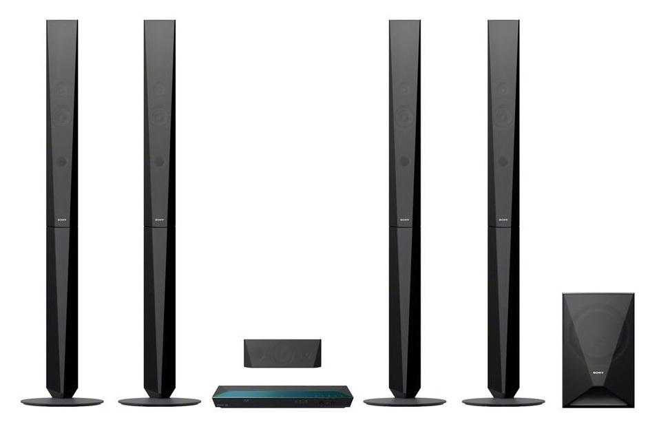 Sony BDV-E6100 3D Blu-Ray - домашний кинотеатр (Black)