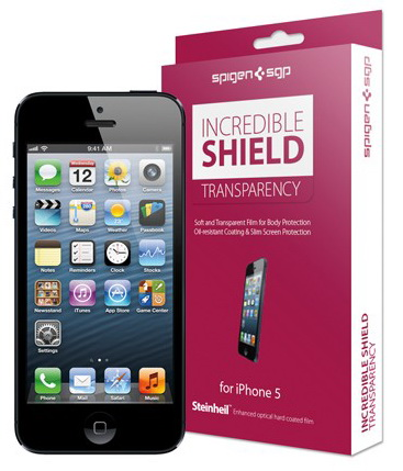 SGP Incredible Shield 4.0 Transparency Screen & Body Protection (SGP08201) - защитная пленка для iPhone 5