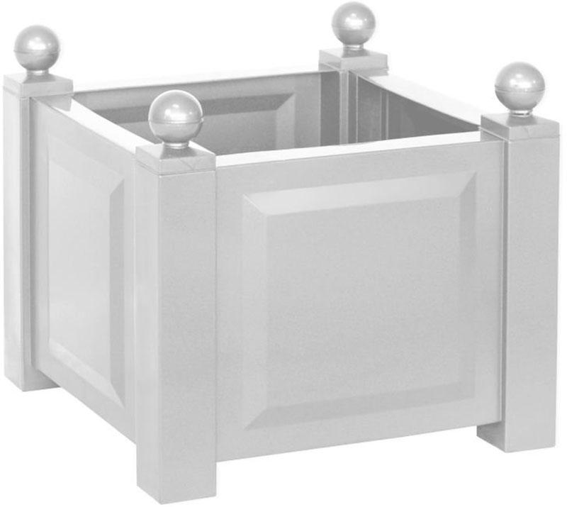 KHW 38001 - квадратный ящик для растений (White)