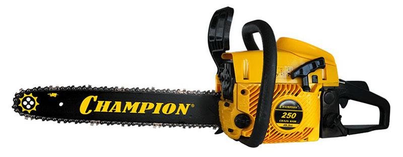 """Champion 250-18"""" - бензопила от iCover"""