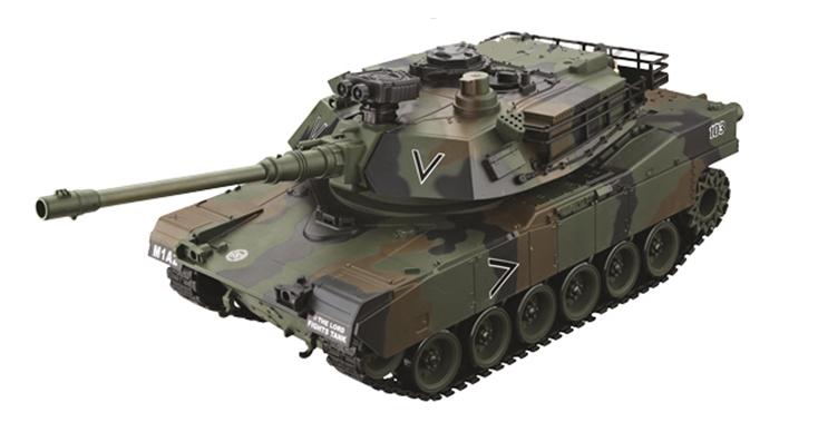 Zhorya Tank 1:20 - радиоуправляемый танк (Khaki)