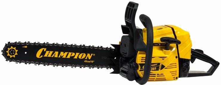 "Champion 265-18"" - бензопила (Black/Yellow) от iCover"