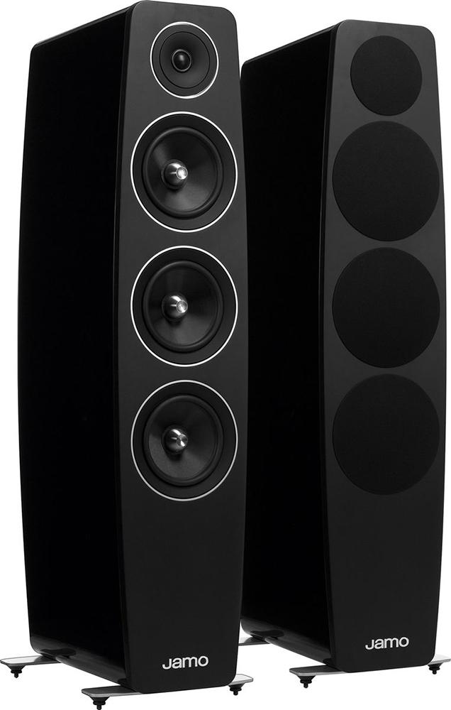 Jamo C 109 - напольная акустическая система (High Gloss Black)Напольная акустика<br>Напольная акустическая система<br>