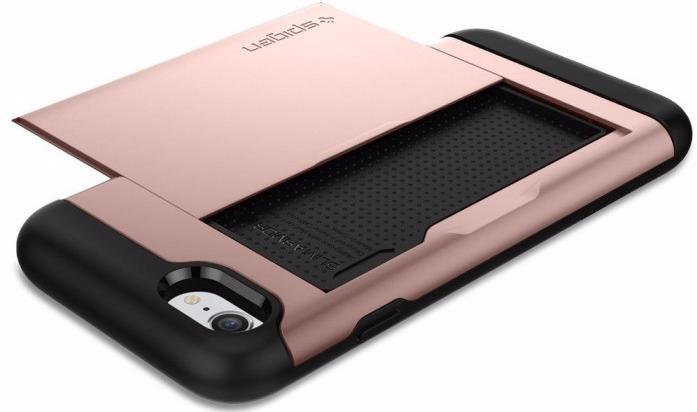 Чехол-визитница Spigen Slim Armor CS (042CS20454) для iPhone 7/8 (Rose Gold)