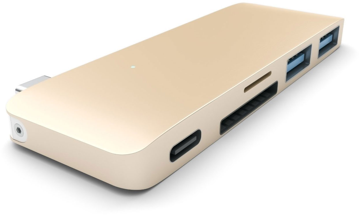 Satechi Combo Hub USB Type-C 3 in 1 B019PHF9UO