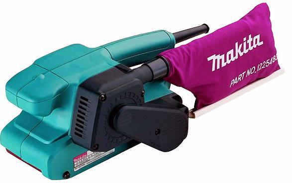 Makita 9910K - шлифмашина ленточная (Blue)Ленточные шлифовальные машинки<br>Шлифмашина ленточная<br>