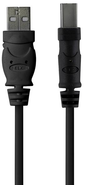 Belkin USB 2.0 Cable 4.8 м (F3U154CP48M) - USB-кабель (Black)
