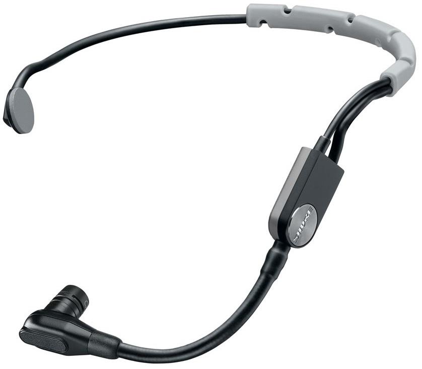 Shure SM35-TQG (A050440) - головной кардиоидный конденсаторный микрофон с разъемом TA4F (Black/Gray) shure sm86 кардиоидный конденсаторный вокальный микрофон black