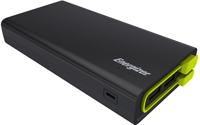 Energizer UE15001 15000 mAh - внешний аккумулятор (Black)