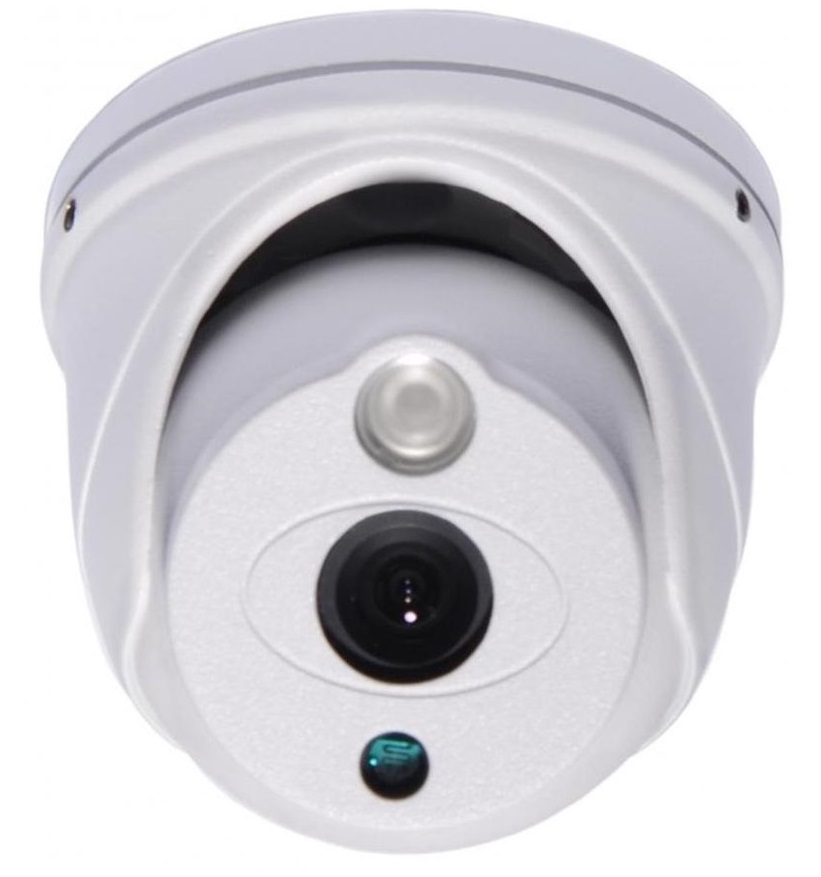 Falcon Eye (FE-ID720AHD/10M) - уличная купольная AHD-видеокамера falcon eye fe 2116 ahd