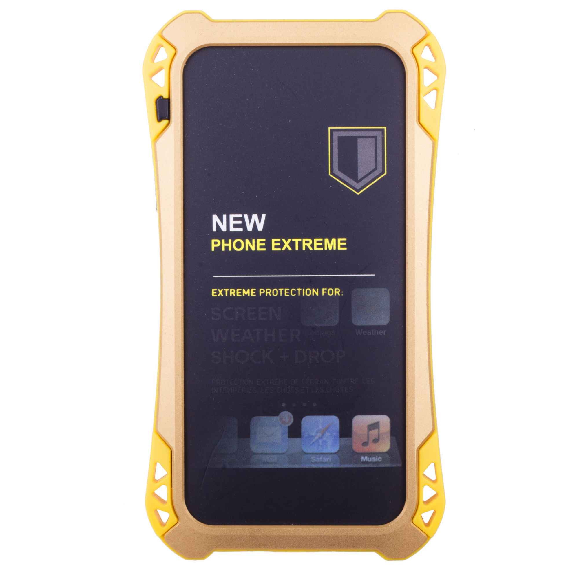 Amira Phone Extreme - защитный чехол для iPhone 6/6S Plus (Black/Yellow)