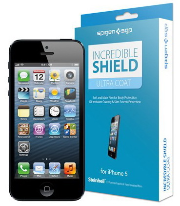 SGP Incredible Shield Ultra Coat Screen & Body Protection (SGP08203) - защитная пленка для iPhone 5/5S