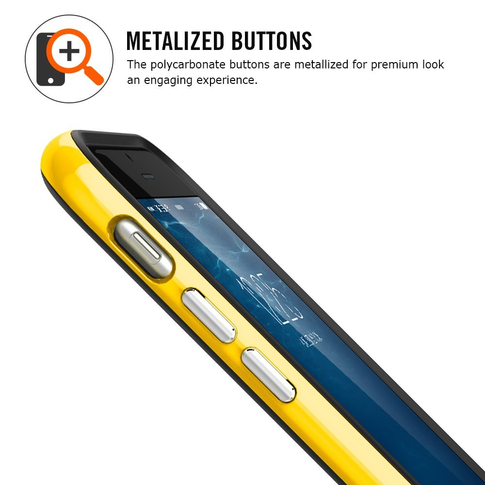 "Spigen Neo Hybrid EX (SGP11060) - бампер для iPhone 6 Plus 5.5"" (Reventon Yellow)"