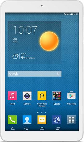 Планшет Alcatel One Touch PIXI 8, 4 Gb, 3G (Full White)