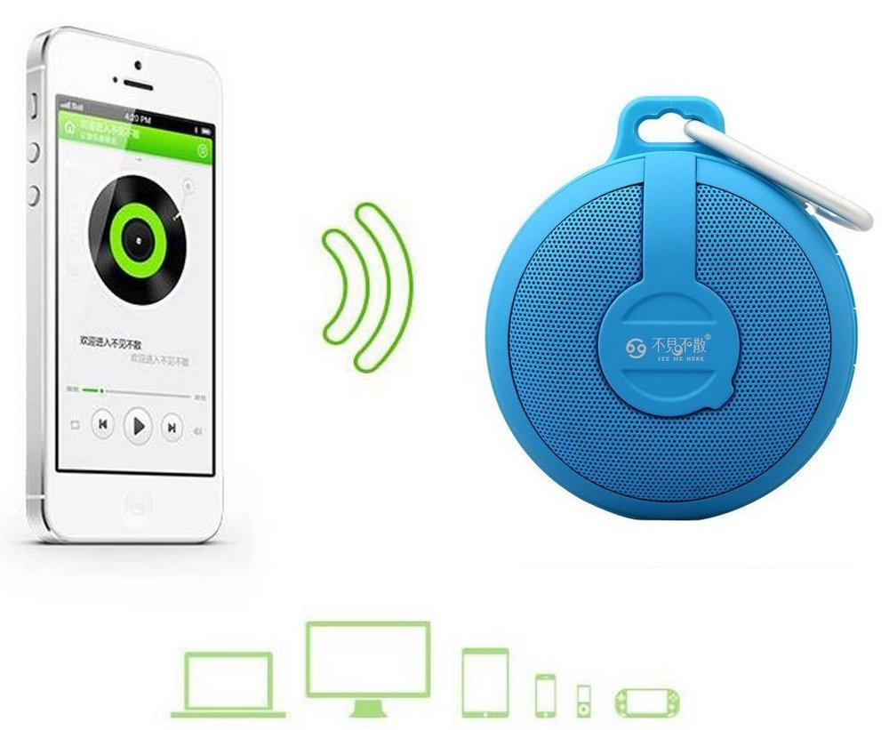 Портативный динамик GO BV210 Bluetooth wireless Portable Speaker Subwoofer (dark blue)