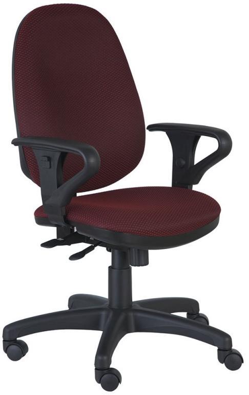 Бюрократ T-612AXSN - кресло офисное (Vinous) от iCover
