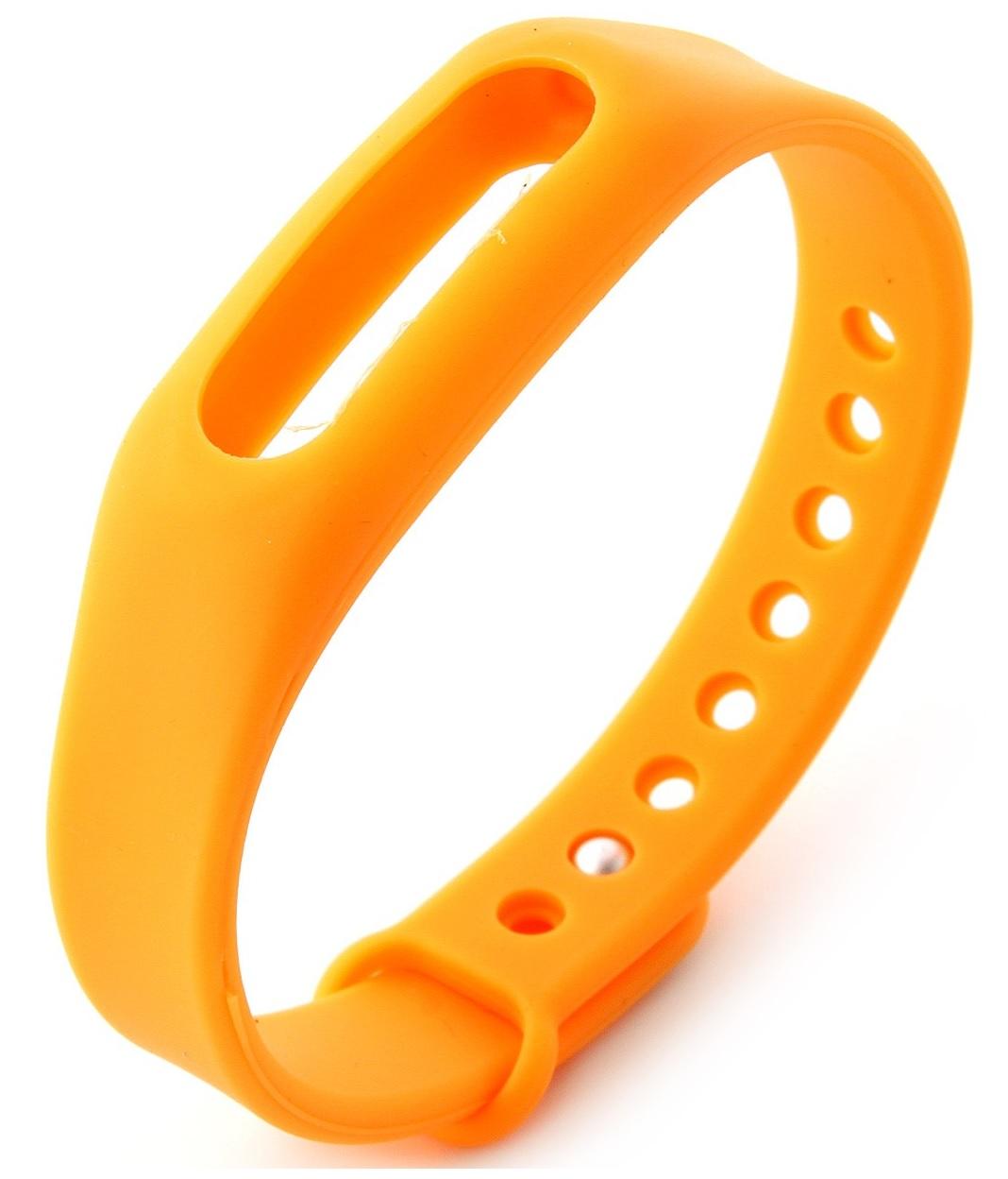 Сменный ремешок Original Replacement Xiaomi Wrist Band для Mi Band/Mi Band 1S (Orange)