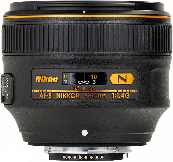 Nikon AF-S Nikkor 58mm f/1.4G JAA136DA