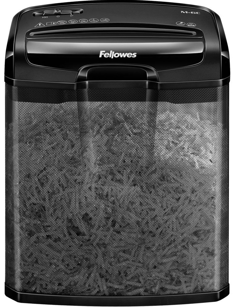 Powershred fellowes powershred m 7c black шредер