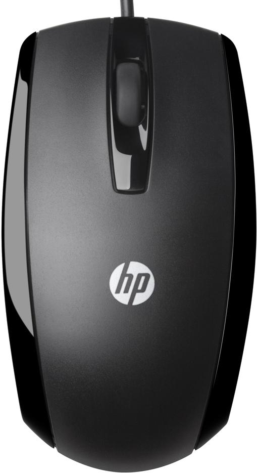 HP Wired Mouse X500 - проводная мышь (Black)