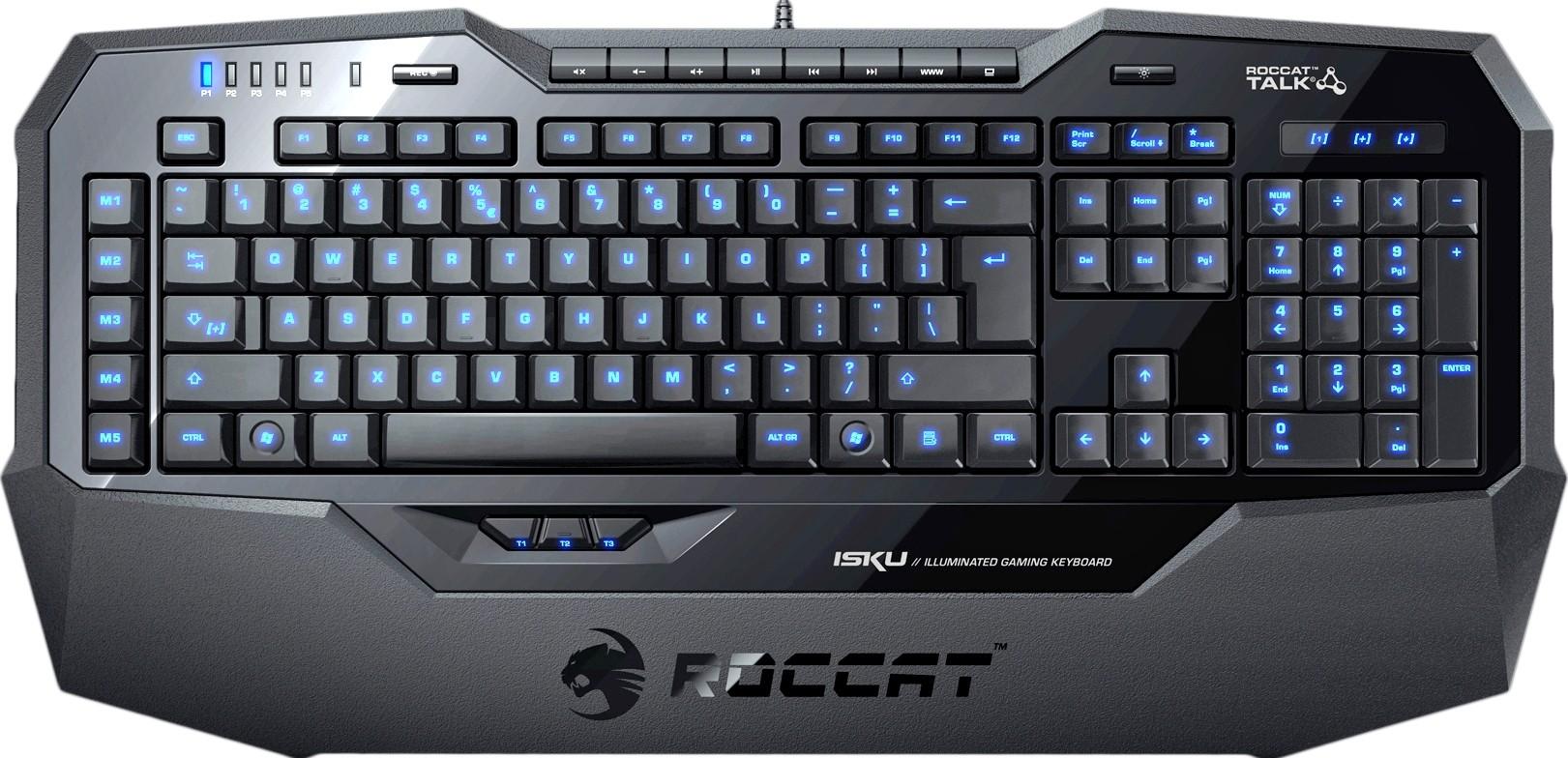Isku клавиатура roccat isku fx