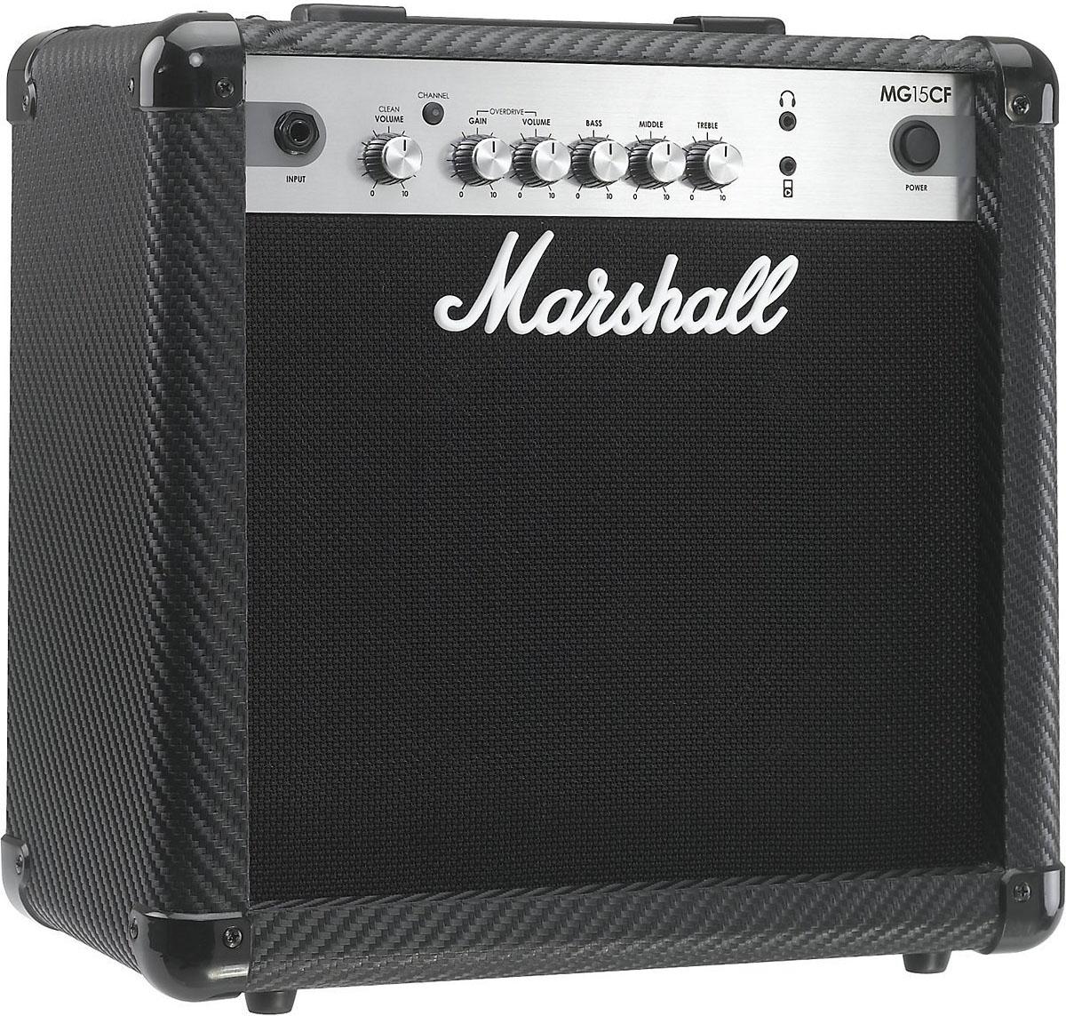 Marshall MG15CF Combo - гитарный комбоусилитель (Black)