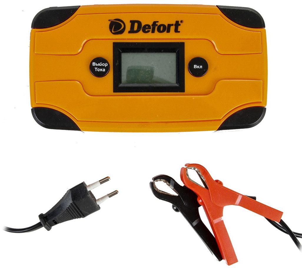 Defort DBC-6D (98299571) - зарядное устройство (Orange)Зарядные устройства для автомобиля<br>Зарядное устройство<br>