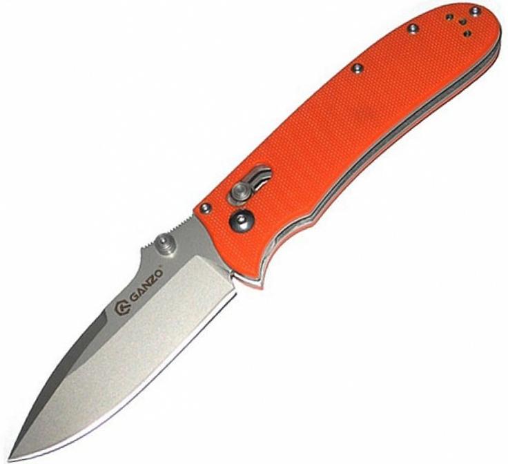 Ganzo G704 (G704-O) - складной нож (Orange)Ножи туристические<br>Складной нож<br>