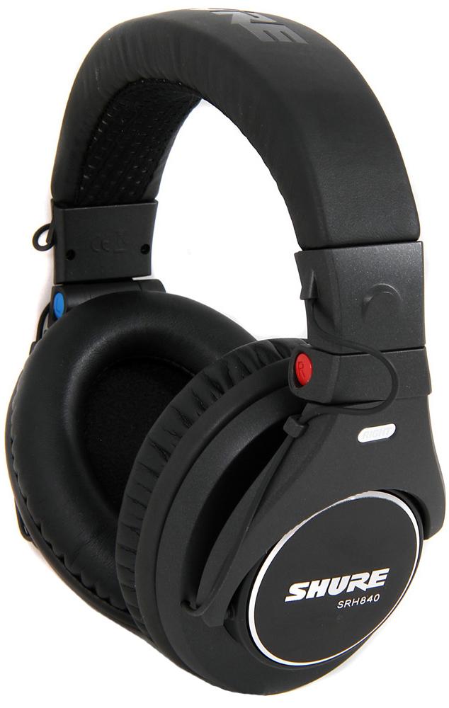 Shure SRH840 - профессиональные наушники (Black)
