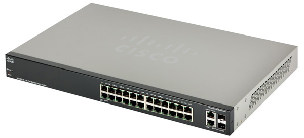 Cisco Gigabit Smart Switch SLM2024T-EU