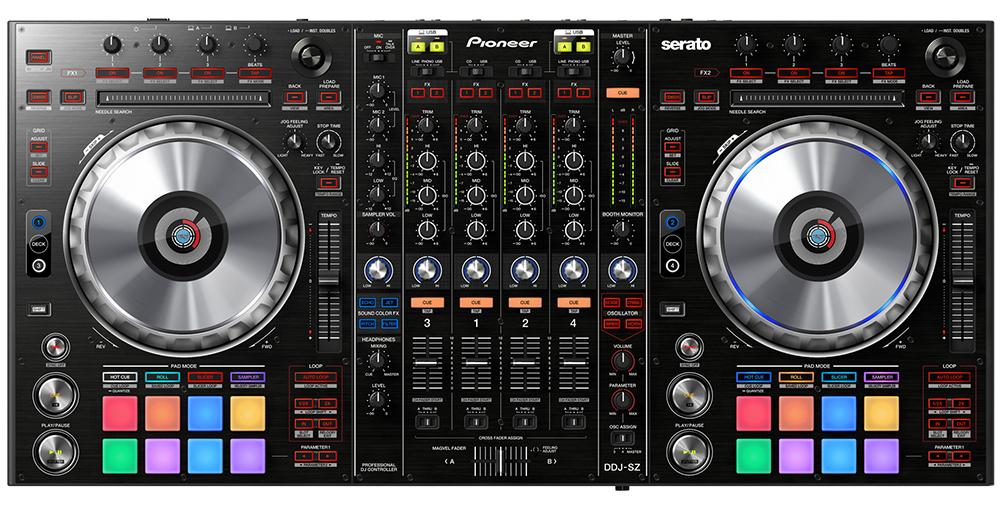 Pioneer DDJ-SZ - DJ-контроллер (Black)