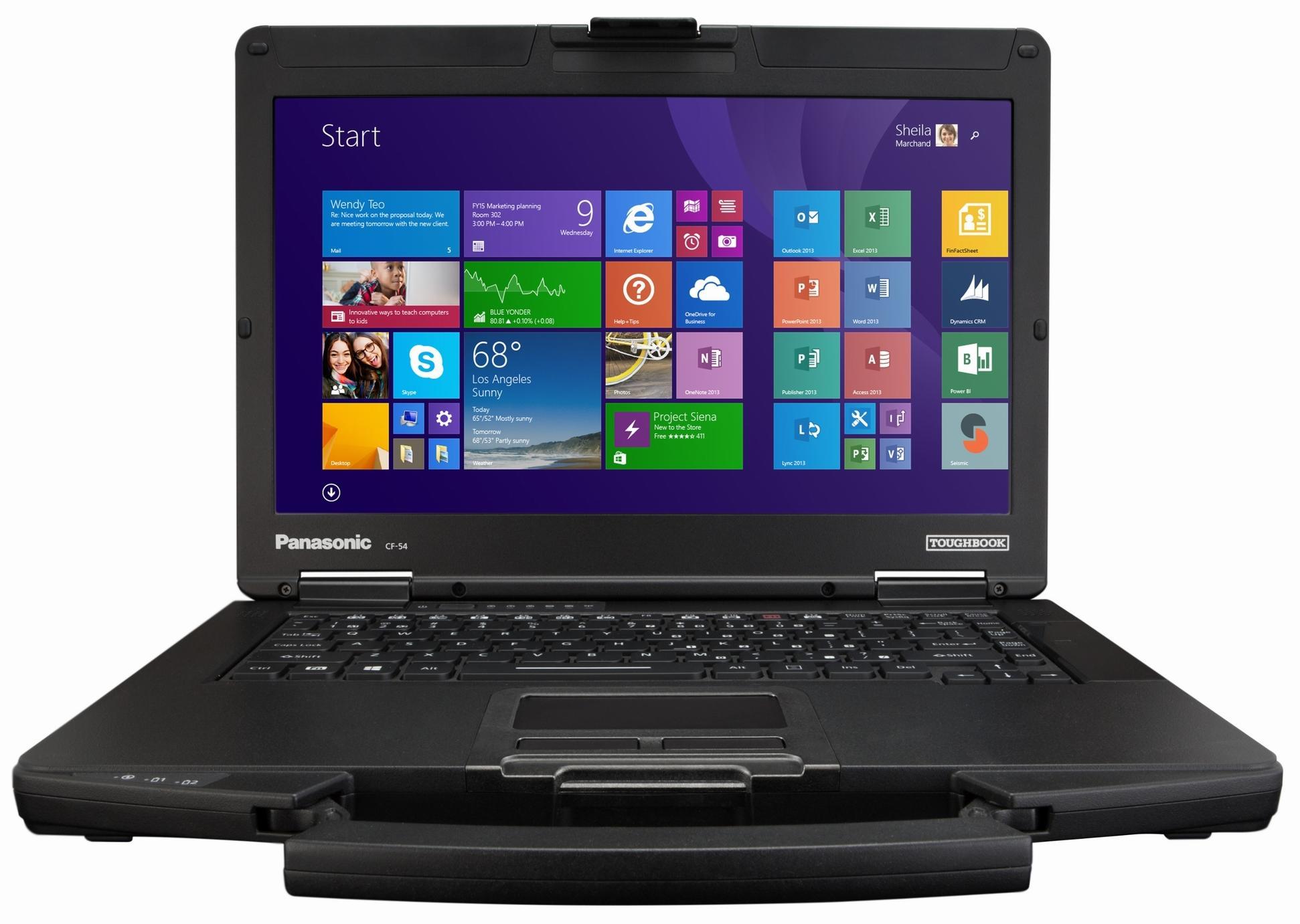 Защищенный ноутбук Panasonic ToughBook CF-54 14 Intel Core i5 5300U 2.3Ghz, 4Gb, 500Gb HDD GPS (CF-54AZ004E9)Ноутбуки для работы и учебы<br>Ноутбук<br>