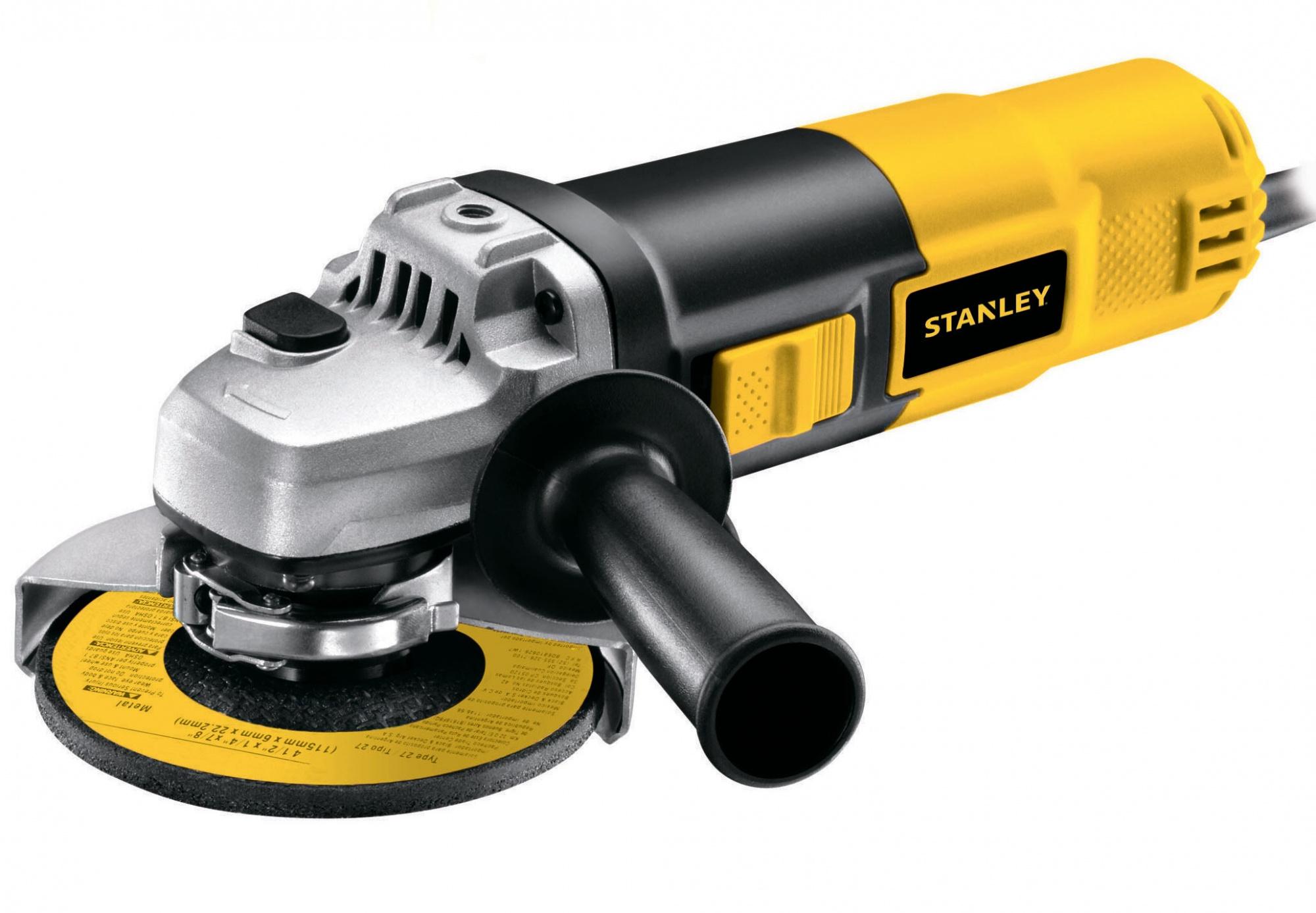 Stanley STGS9115-RU - угловая шлифмашина (Yellow)