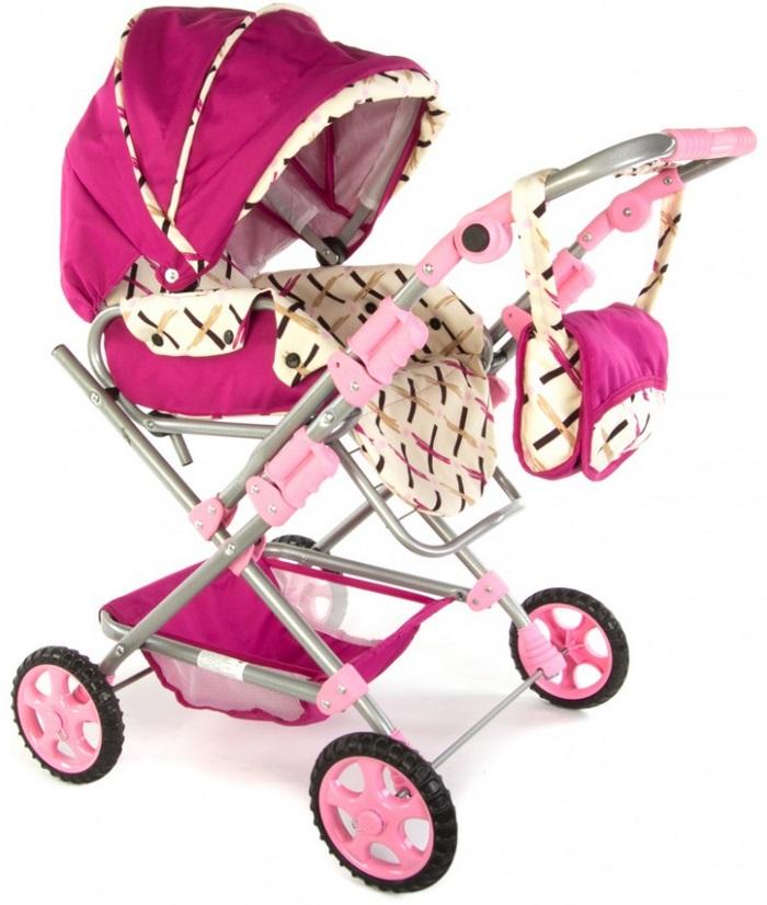 Wakart Майя (000sn-37089) - коляска для кукол (Pink) от iCover