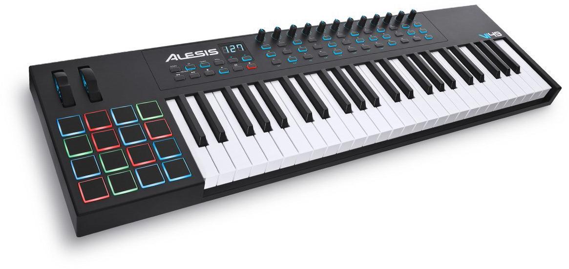 Alesis VI49 - миди-клавиатура (Black)
