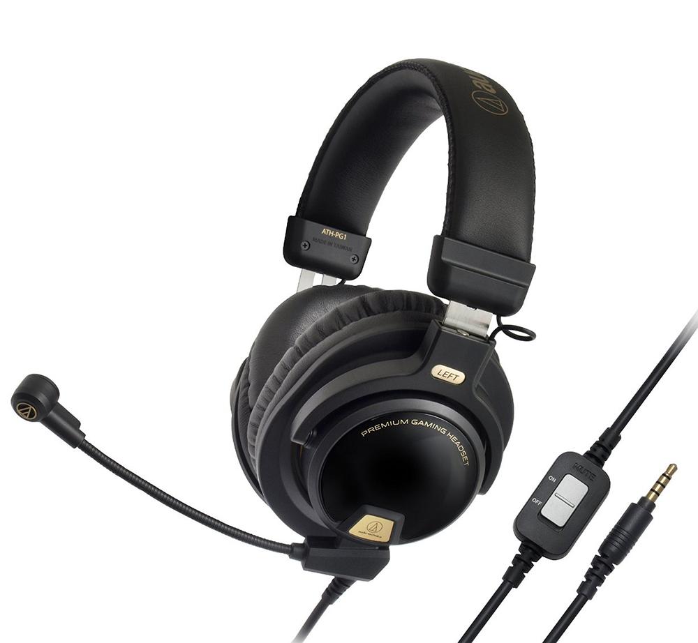 все цены на  Audio-Technica ATH-PG1 - проводная гарнитура (Black)  онлайн