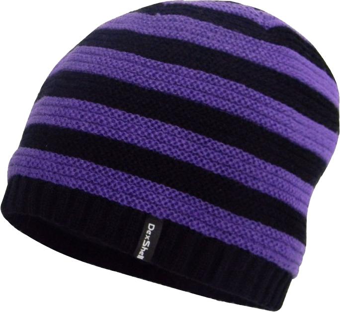 Dexshell DH552 (DH552PP) - детская водонепроницаемая шапка (Purple/Black)