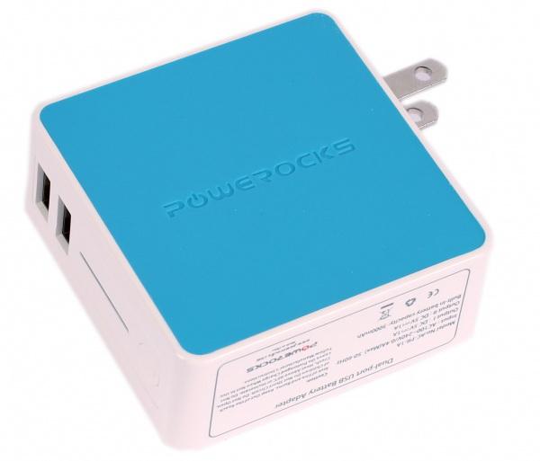 Powerocks Tetris (AC-PR-1A) - допольнительный аккумулятор 3000mAh для iPhone/iPod/iPad (Blue)