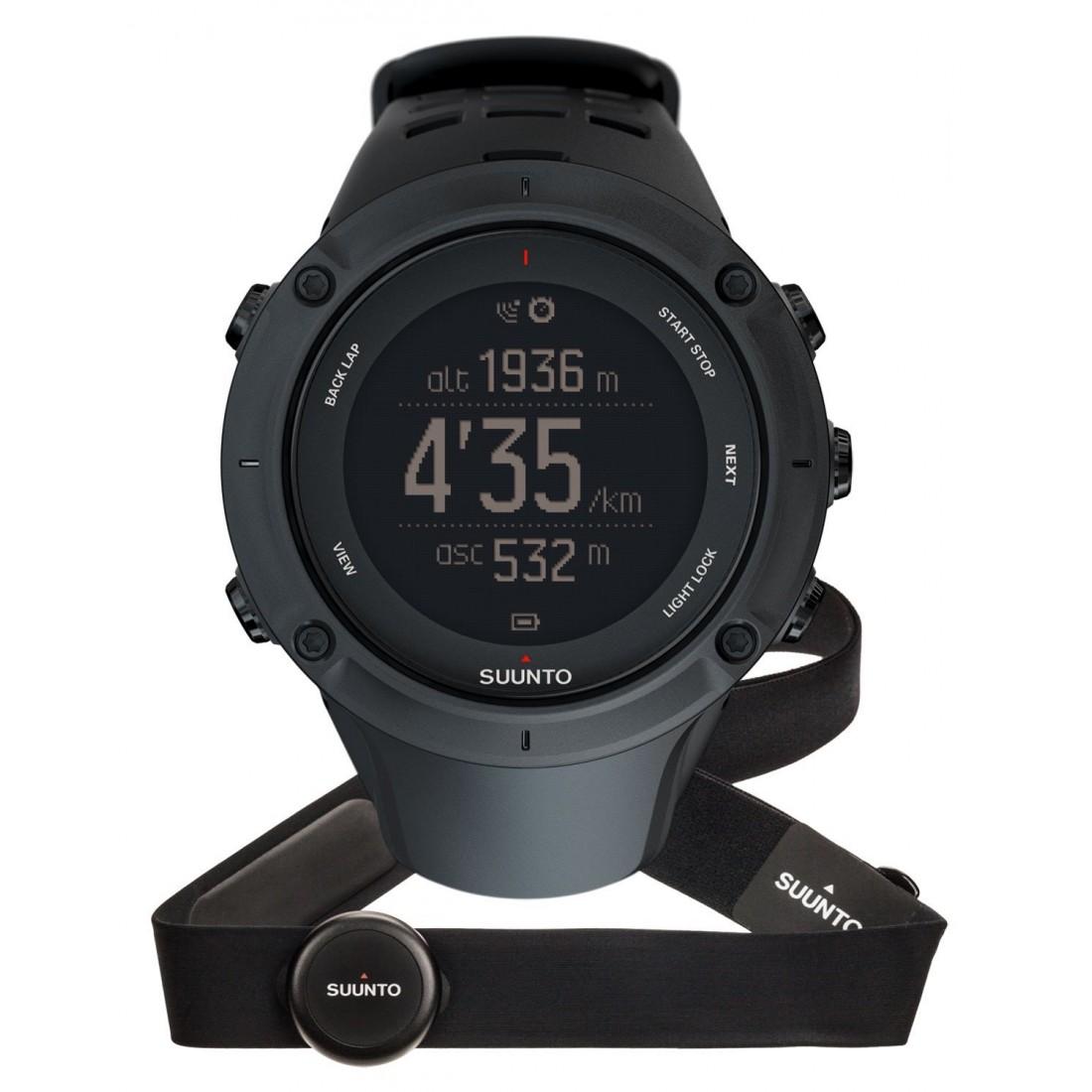 Suunto Ambit 3 Sport HR - комплект из спортивных часов и пульсомера (Black)