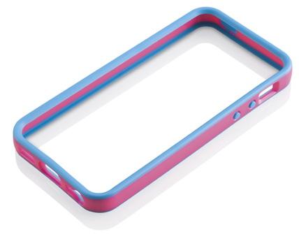 Gear4 The Band (IC508G) - чехол для iPhone 5 (Blue/Pink)