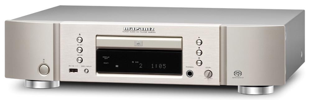 Marantz SA8005 - проигрыватель CD-дисков (Silver/Gold)