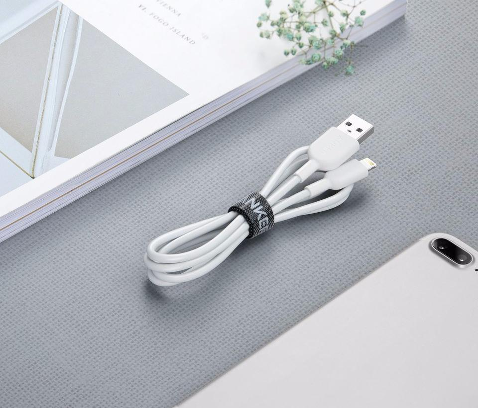 Кабель Anker Powerline II 0.9m USB-Lightning (White)